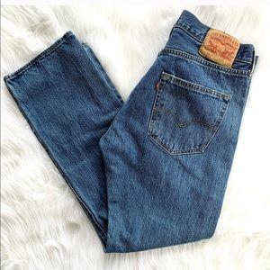 Vintage Levi's 501 Straight Leg Jeans 32 x 30